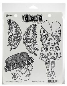 """Dyan Reaveley's Dylusions Cling Stamp Collections 8.5""""X7""""-Sunday Best"""