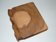 Wonderful Rare Photo Album 'ARTE MEDICI' Wood and Leather, Handmade in Germany