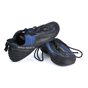 Mad Rock Frenzy Climbing Shoes Mens Size 10 - Blue/Black *Used*