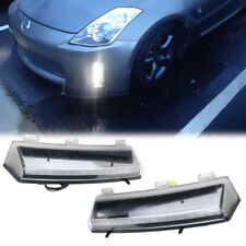 LED Daytime Running Light DRL Front Bumper Reflector Fits For Nissan 350Z 06-09