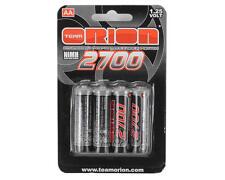 Orion Batterie Stilo AA Ricaricabili NiMh 2700Mah (4) - Radiocomando Ricevente