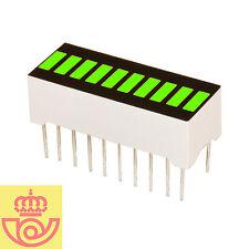 Display led 10 segmentos VERDE (Arduino, prototipos)
