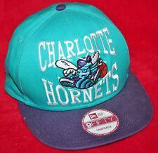 CHARLOTTE HORNETS New Era 9Fifty Snapback 90s Logo HAT CAP NBA Basketball