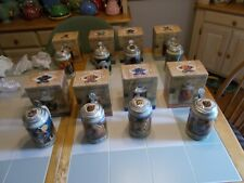 New listing 8 Budweiser Endangered Species Series Lidded Steins,Boxes.Coa'S,2 Grizzly Bear