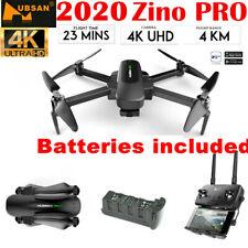 Hubsan Zino PRO 4KM Drone GPS 4K FPV 5G APP Auto 3Axis Gimbal Foldable+ Battery