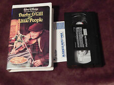 Darby O'Gill and the Little People + Thomasina (VHS x 2) Disney Clam Shells) LOT