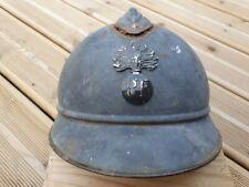 Coque de casque Francais ADRIAN WW1 fabricant le jouet de paris