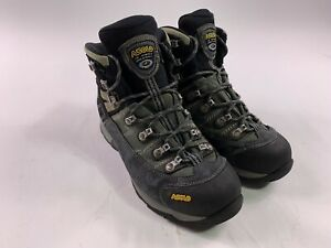 Asolo Fugitive Gore-Tex Hiking Boots Mens Size 9 Waterproof Alpine Trail Tan