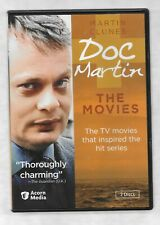 DOC MARTIN THE MOVIES Martin Clunes 2 Disc Set RARE R1