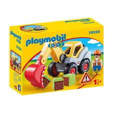 Playmobil 1-2-3 Shovel Excavator Building Set 70125 NEW IN STOCK