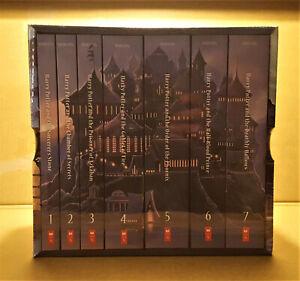 HARRY POTTER serie completa CASTELLO box cofanetto blisterato ENGLISH LANGUAGE