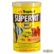 Tropical SuperVit Flakes 200g - Premium Flake Food for All Ornamental Fish