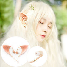 Hot Cosplay Spirit Elf Ears Earphones Fairy Earbuds For Smartphone MP3/4 3.5mm