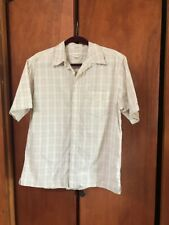 Men's High Sierra M Short Sleeve Button Down Shirt. Plaid