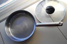 "Kuhn Rikon Stainless Steel  Pan / Skillet  ; 9.75"" wide by 2.25"" Deep Quality"