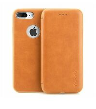 iPhone 7 Plus Leather Wallet Case, CASEWIN Card Slot Holder Flip Book Design Cla