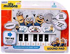 Véritable méprisable Me serviteurs clavier sound mono musique chant Pad RIRE 4 +