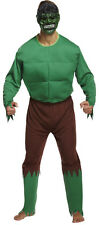 Men's Green Giant Costume Da Supereroe Costume HULK Novità Divertente Costume
