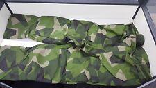 Original RARE Swedish M90 camo waterproofpants,military goretex.multiple size