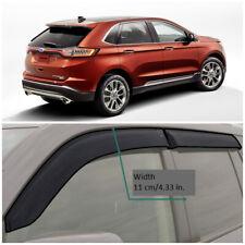 FE33914 Window Visors Sun Guard Vent Wide Deflectors For Ford Edge ll 2015-