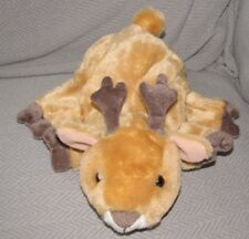"DREAM DEER STUFFED PLUSH FAWN DOE BAMBI HAND PUPPET 10"" BROWN TAN BEIGE"