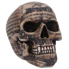 More details for nemesis now dracula's tale vampire novel quote skull 18.5cm
