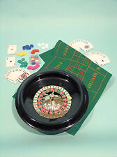 Roulette and BlackJack Set - 40cm Wheel - Ref: 00612