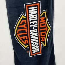 Harley Davidson Trademark Motorcycle Bath Beach Gift Towel Bike HD Shield