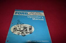 Ford 40 Inch 50 Inch Mower Operator's Manual CHPA
