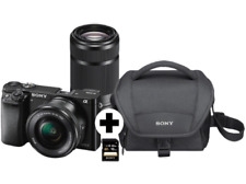 Sony Alpha 6000 Kit Systemkamera 24,7MP inkl. Objektiv - NEU