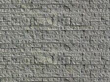 Mauerplatte Spur H0 Faller 606 Grünsandstein
