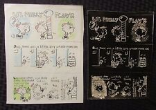 Vintage Li'L Philly Flav'R 8x10 Stat and Negative Set of 2 Vg/Fn