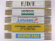 Sammlung 5x Zollstock Meterstab Südmetall EDE Lotusan TOP! 1603-15-14