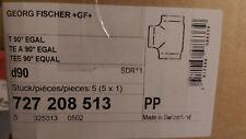 New listing Box of 5, Gf 90mm, Beta Pp Tee, Butt Fusion P/N 727208513