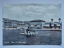TRIESTE battello turistico barca vecchia cartolina