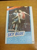 14/11/1987 Coventry City v Wimbledon  . Thanks for viewing this item, buy with c