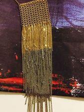 Anthropologie Shimmer Fringe Necklace by Marie Laure Chamorel
