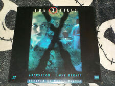 X-Files Ascension/ One Breath Laserdisc LD Free Ship $30