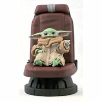 Star Wars The Mandalorian Child in Chair 1:2 Scale Statue by Gentle Giant