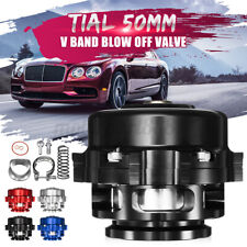 Universal 50mm Aluminum Turbo Intercooler Boost Bov Blow Off Valve V-Band Kit