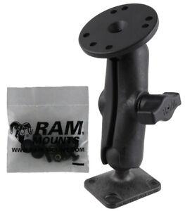 "RAM 1"" Ball Drill Down Composite Mount for Raymarine Dragonfly Sonar / GPS"