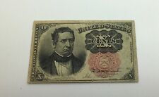 1874 10 Cents Fractional Currency E 1874 Red Seal