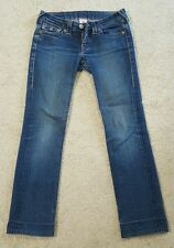 TRUE RELIGION Blue Jeans Straight 27 Made In USA 10572 NICE