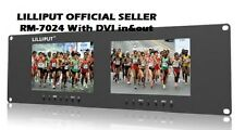 LILLIPUT RM-7024-VD -3RU Rack Monitors With dual VGA, Video & DVI in/outputs