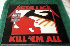 Metallica - Kill 'em All - NEW & SEALED VINYL LP - 2014 Blackened Records RI