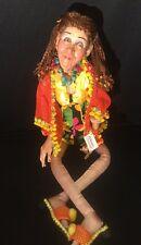Katherine's Collection Wayne Kleski Retired Babes At The Beach Hippie Mae Doll