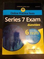Series 7 Exam for Dummies (Paperback or Softback)