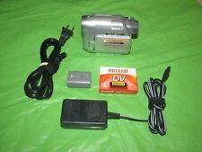 Sony Handycam DCR-HC21 Mini DV Camcorder - Record Transfer Watch MiniDV Tapes @@