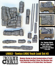 1/35 Scale LRDG Truck Load (Tamiya Chevrolet 30cwt) #3 Resin stowage set