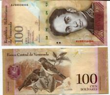 VENEZUELA 100 BOLIVARES 2015 P 93 NEW SIGN UNC